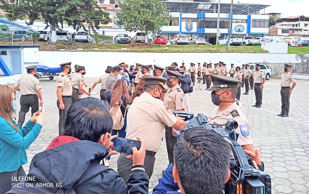 En las instalaciones de la Policía de Loja se realizó la ceremonia.