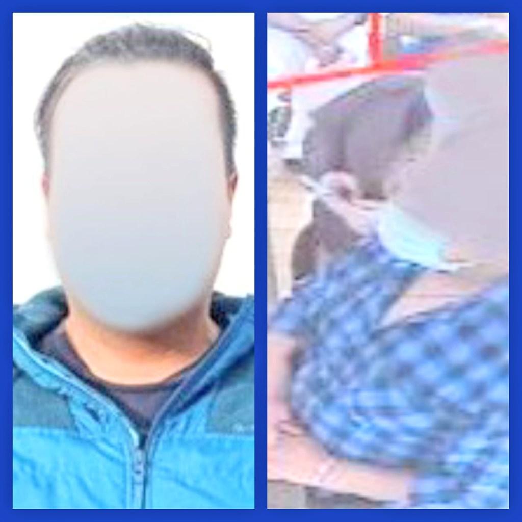 En las imágenes se ve al ciudadano que distrae a la persona que atendía en la joyería.
