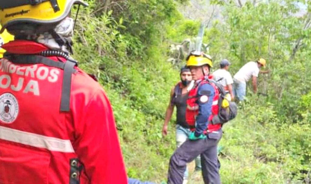 El ciudadano fue encontrado sumergido en la quebrada del sector.