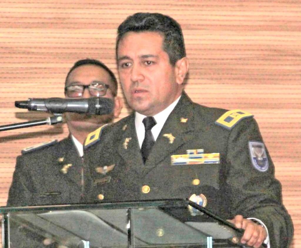 Eduardo Pérez Flores asumió el cargo de comandante de la Policía de la zona siete el lunes 11 de enero de 2021.