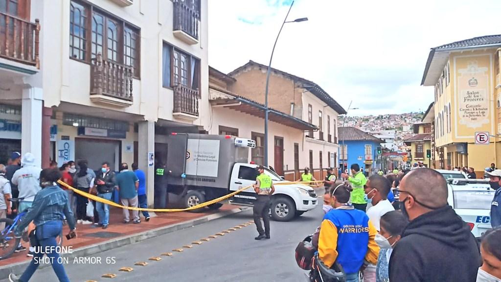 La casa en la cual se halló el cuerpo sin vida de Israel Samaniego Villacís pertenecería a Jorge V. P.