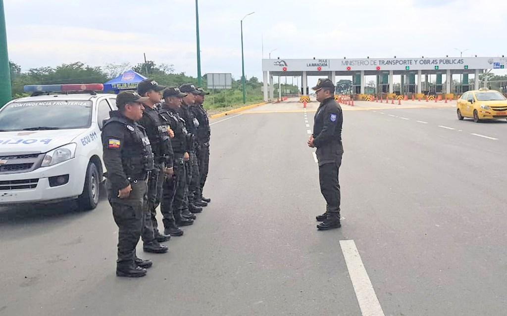 La vigilancia de la Policía en Macará y Zapotillo es permanente y ahora mucho más cuando las fronteras están cerradas.