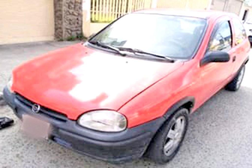 El carro fue retenido por los uniformados de la Policía Judicial.