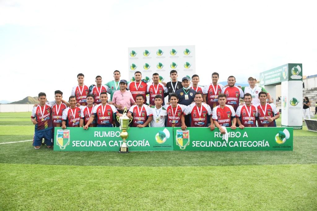 Charapanos FC se proclamó campeón tras vencer a Ciudad de Palanda.