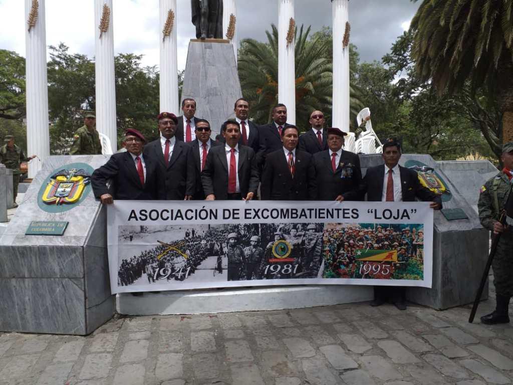 Una delegación de la Asociación de Excombatientes 'Loja' acudirá a recibir este reconocimiento en Paquisha.