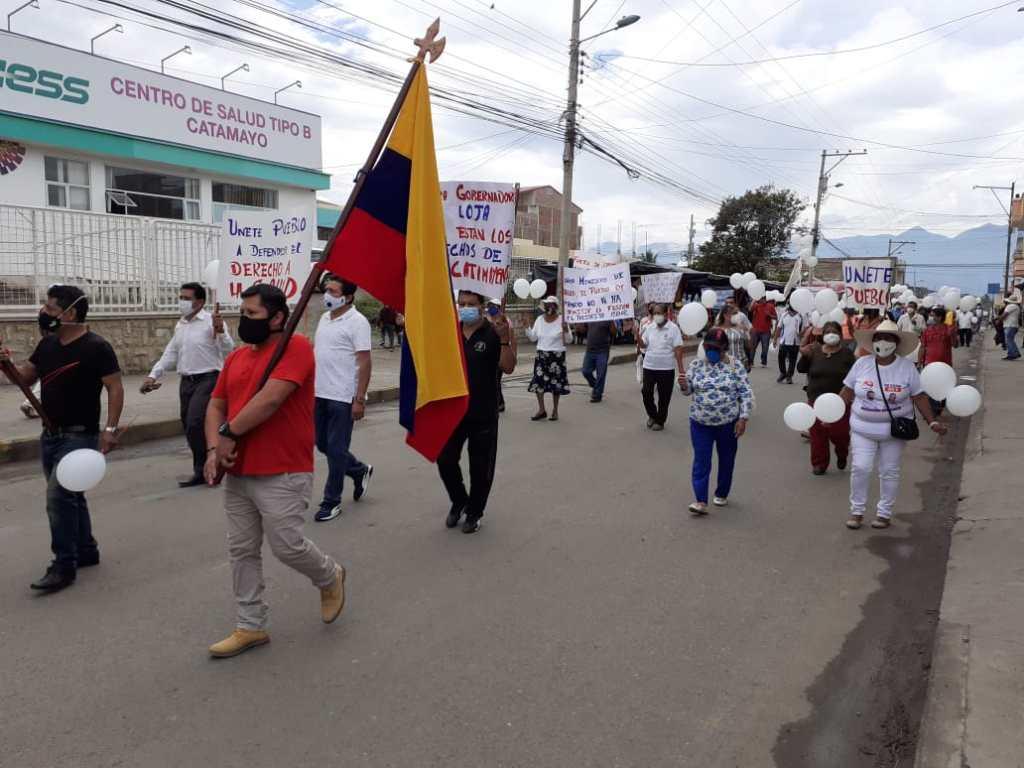 Hace algunos días, ciudadanos protestaron en las calles de Catamayo.