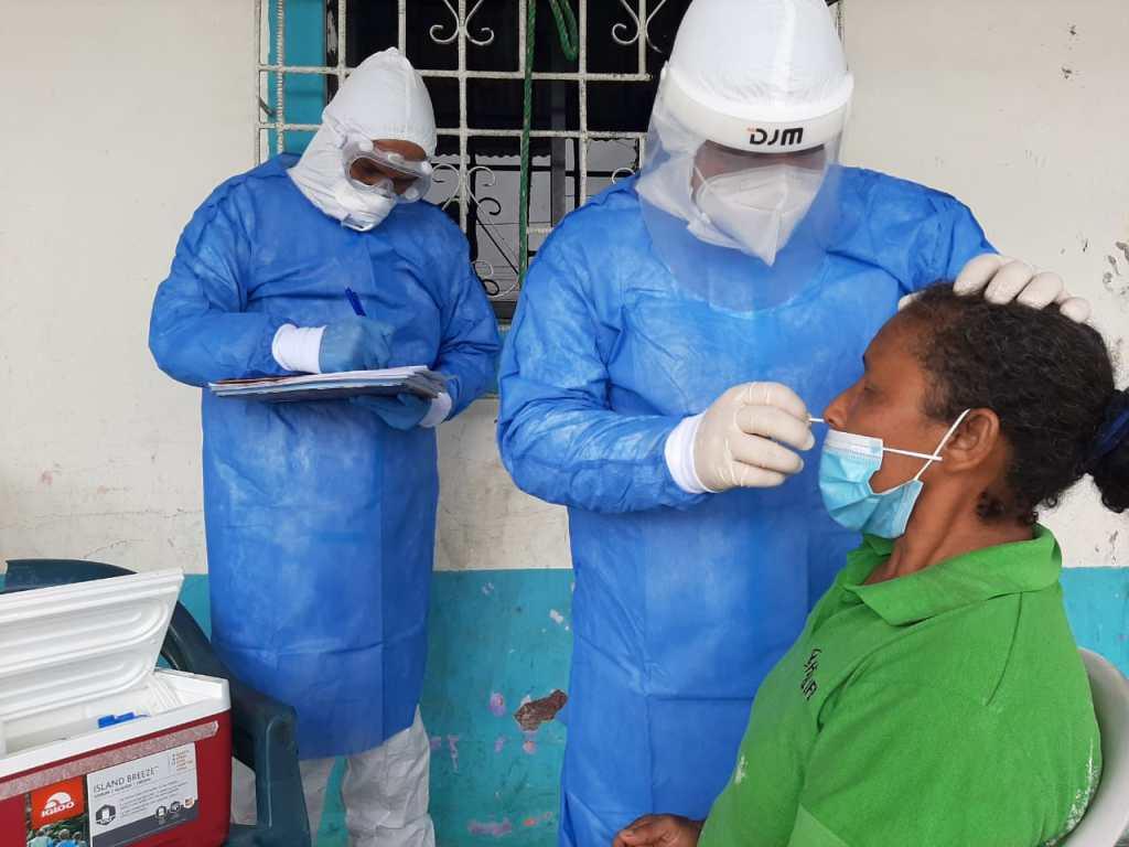 La prueba rápida de antígenos no tiene costo alguno. (Foto: MSP)