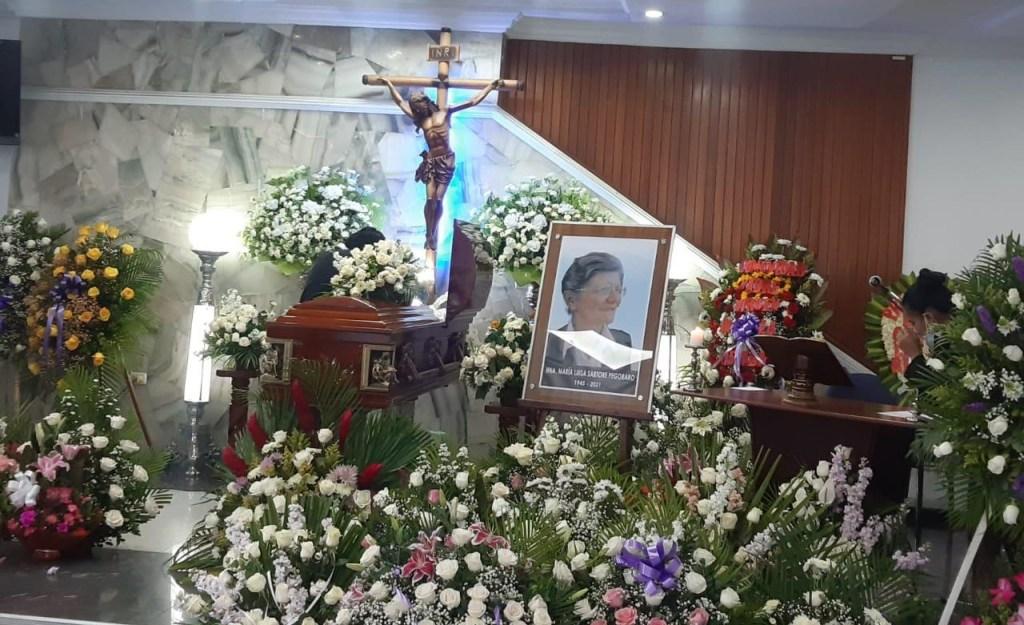 Se levantó una capilla ardiente en honor a la religiosa, que vivió muchos años en Loja.