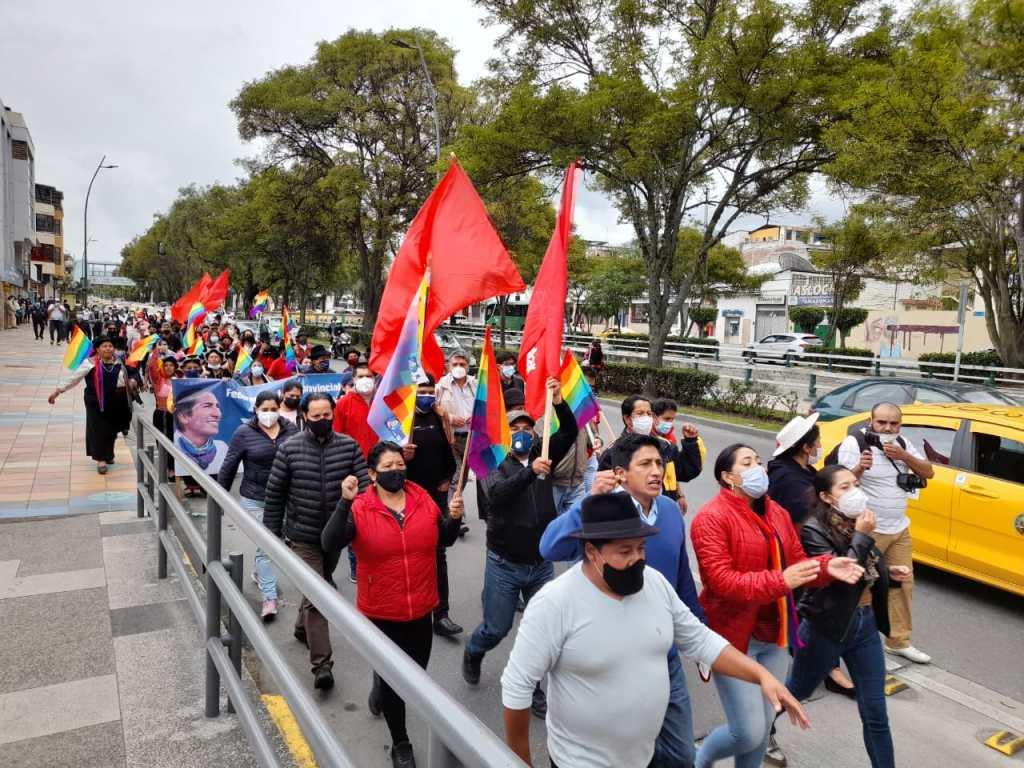La alianza en Loja considera que diversos actos llevan a pensar en un presunto fraude electoral. (Foto archivo)