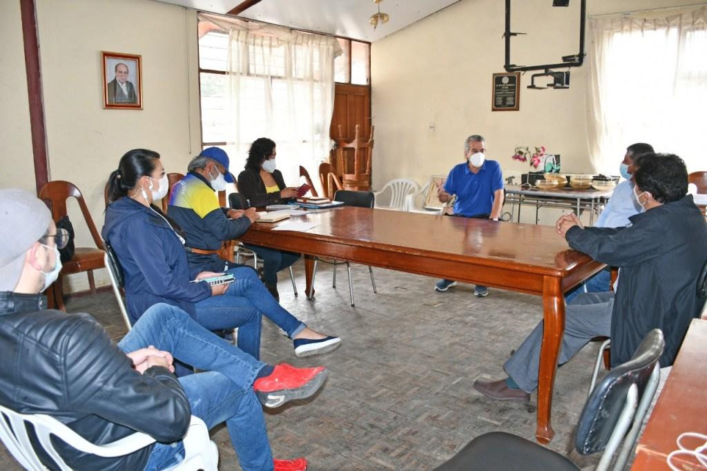 La sesión se cumplió en las instalaciones de la sede, en La Banda.