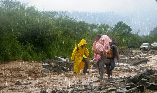 Las afectaciones han sido en tema vial, en viviendas y en las tuberías de conducción de agua potable.