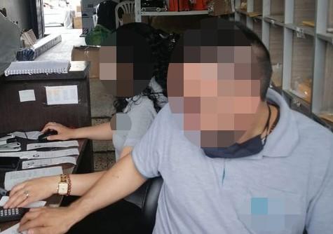 Dos funcionarios de la empresa de transporte eran quienes no usaban la mascarilla.