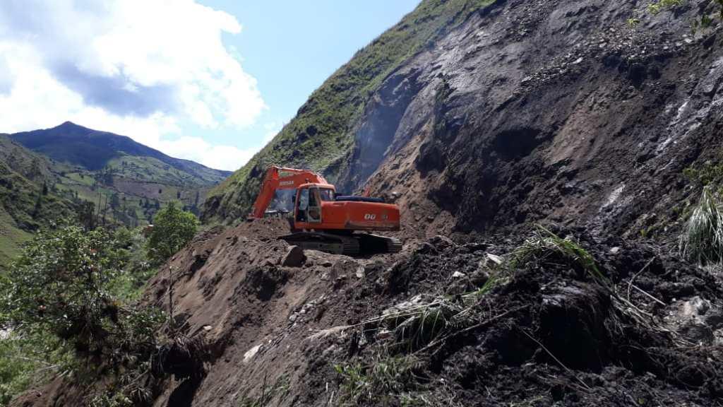 Los daños se registran en la mayoría de arterias de esta provincia sureña.