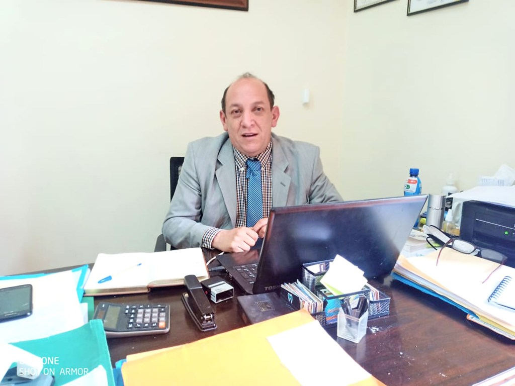 Ramiro Carrión Jaramillo, abogado en libre ejercicio de Loja.