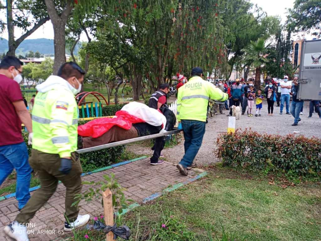 El cadáver fue llevado al Servicio de Medicina Legal y Ciencias Forenses del Ministerio de Gobierno.