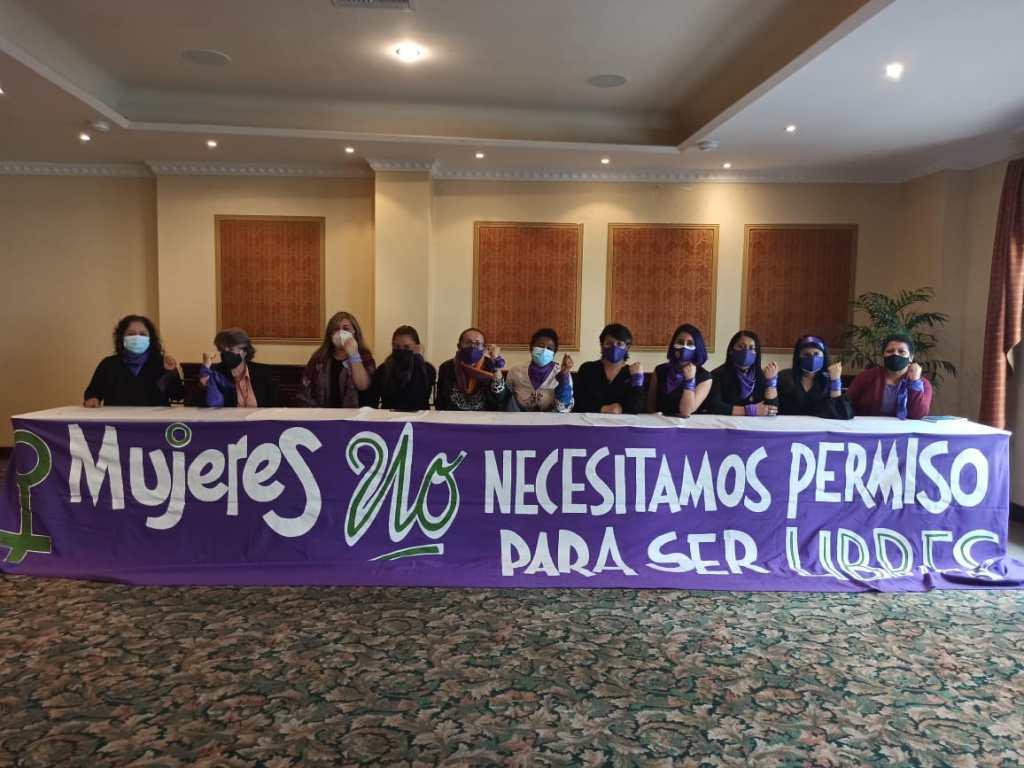 El último lunes se realizó la presentación de la 'Agenda Violeta Resistencia Feminista'.