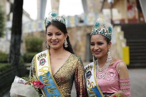 La Reina 2021, Paola Armijos, y Sara Ñusta, Martha Cabrera, presidirán diferentes actos.