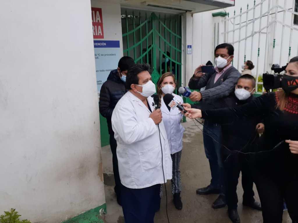 Representantes de los profesionales de la salud de Loja mostraron su preocupación por la situación que vive la localidad por el número de contagios.