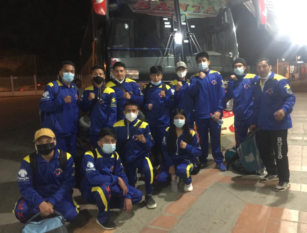 La delegación, que recibió el apoyo de entidades como la empresa Santa, tuvo una continua preparación.
