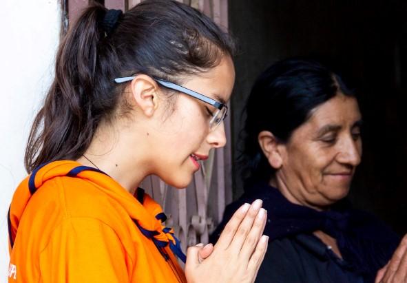 Uno de los objetivos de la Misión Idente Semana Santa es la evangelización.