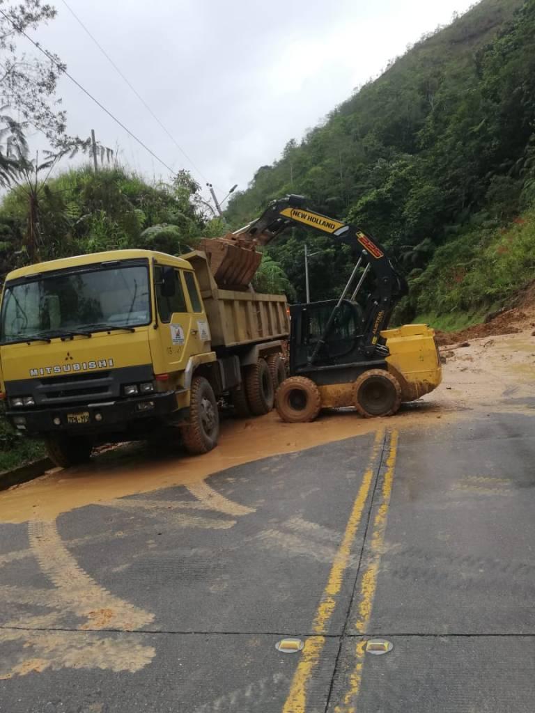 La vía fue habilitada por el MTOP.
