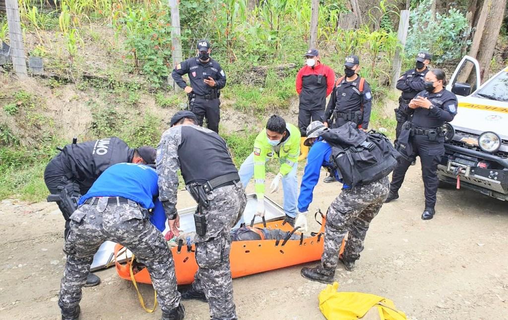 La Fiscalía, la Policía y Cuerpo de Bomberos acudieron a la búsqueda.