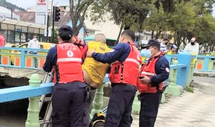 No sufrió lesiones el ciudadano, que estaba ebrio.