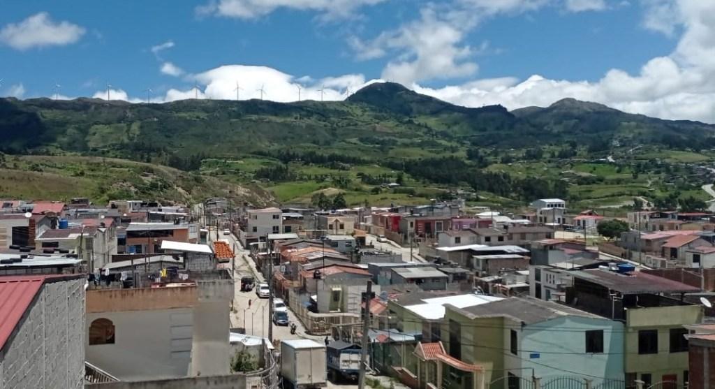 Ciudad Victoria, al occidente de Loja, tiene alrededor de tres mil habitantes.