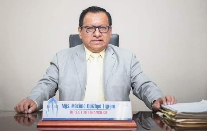 Máximo Qhizhpe Tigrero venía ejerciendo funciones desde que inició la nueva administración.