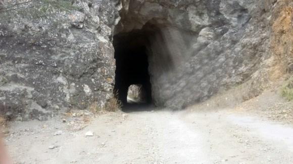 El túnel en la actualidad constituye un atractivo turístico.