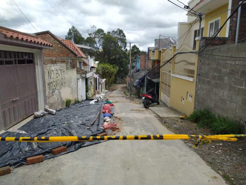 Las casas afectadas están ubicadas en la tercera etapa de la ciudadela.