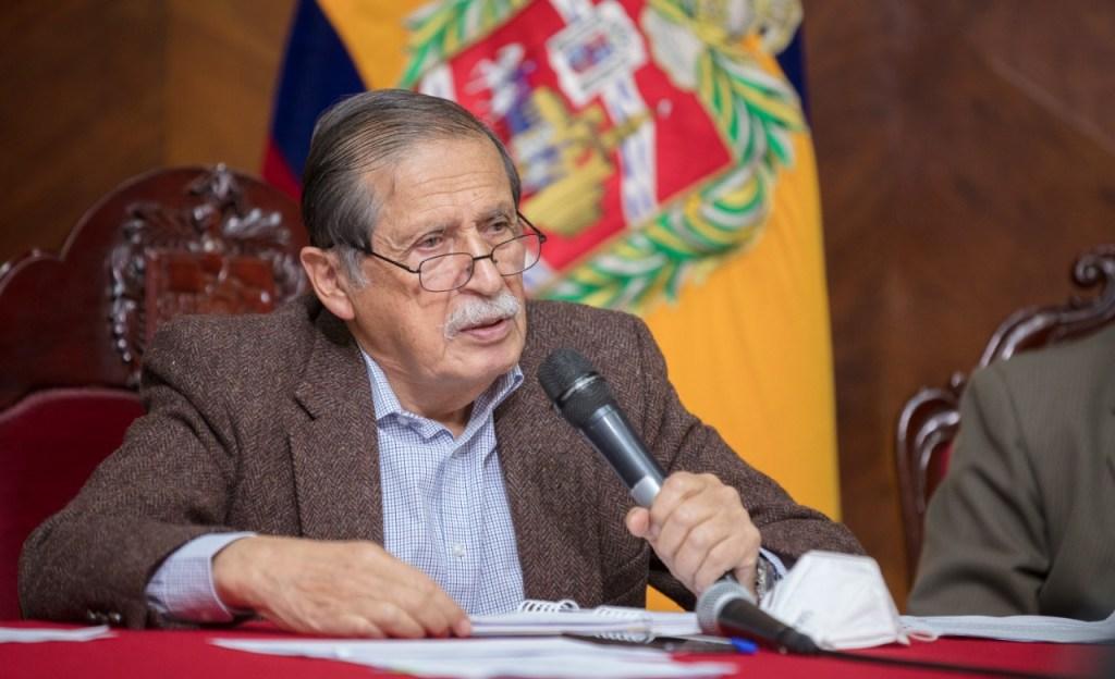 El alcalde de Loja, Jorge Bailón Abad, cumple dos años de gestión.
