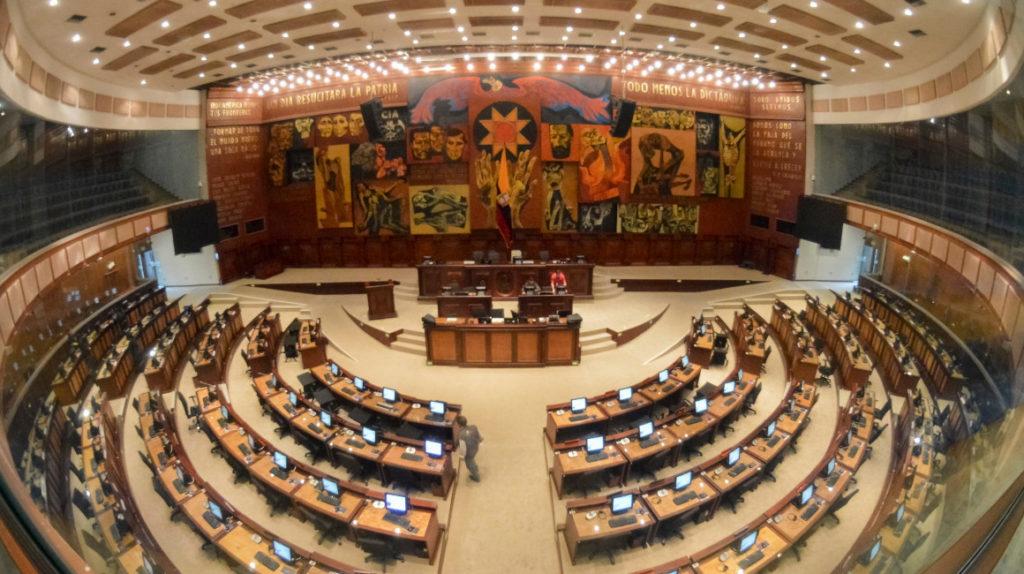 La Asamblea está lista para recibir a los nuevos legisladores.