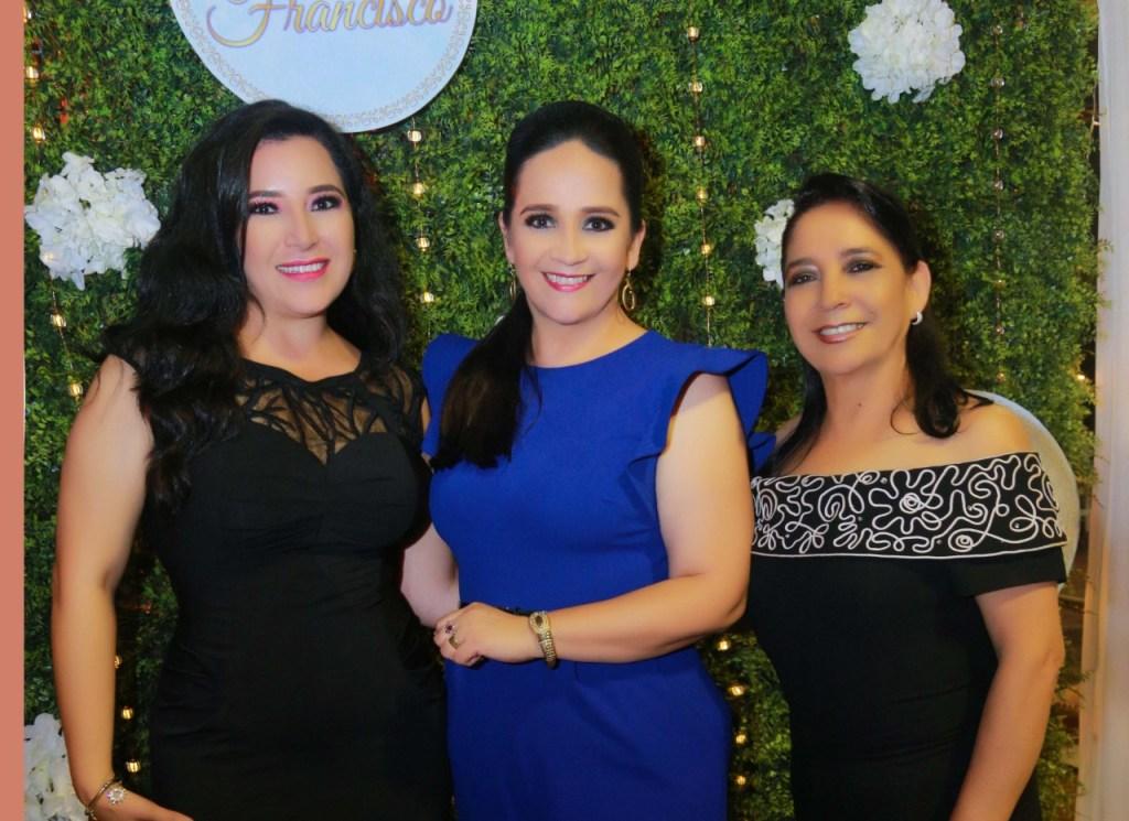 Mercy Jaramillo, Ligia Torres y América Andrade.