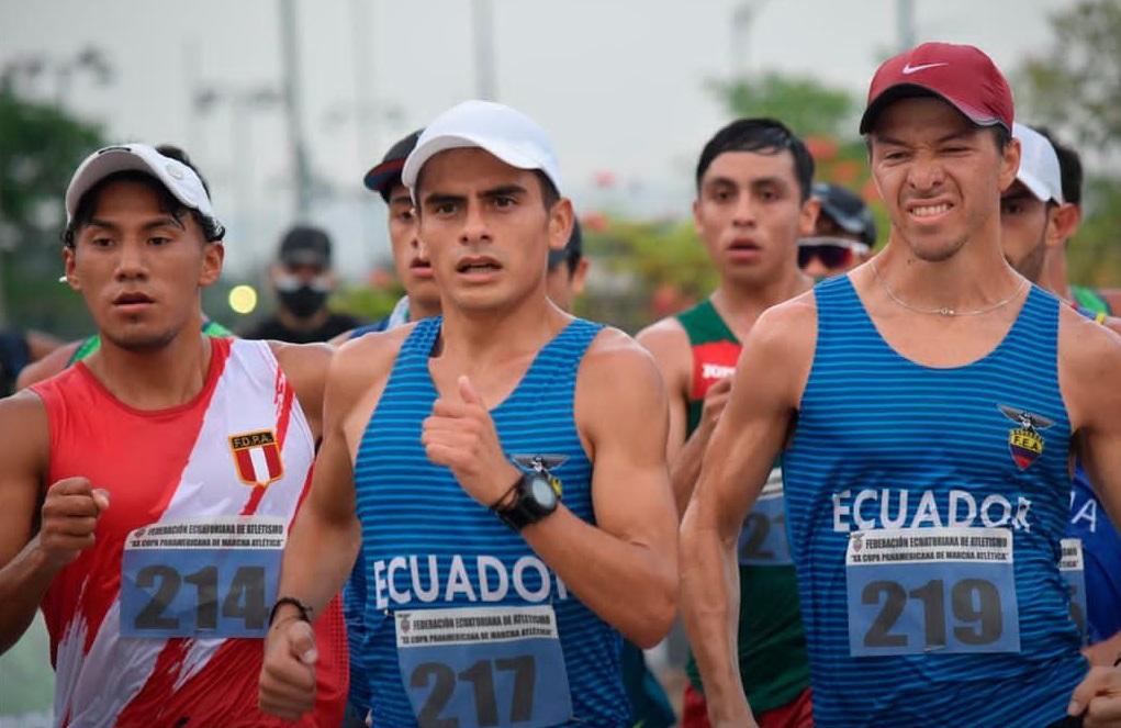 Jordy Jiménez de los registro de FedeLoja aún piensa en las Olimpiadas.
