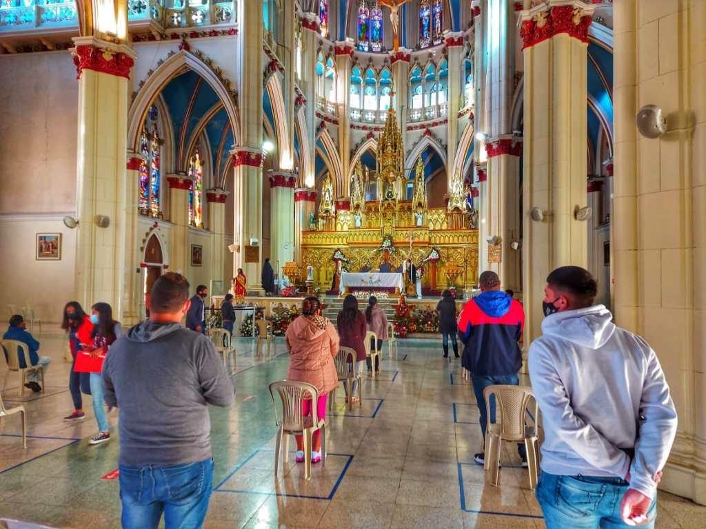 La imagen de la 'Chunonita' podría dejar su Santuario el 17 de agosto.