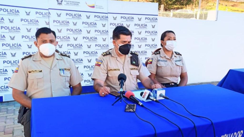 Francisco Mesías Hidalgo, en una conferencia de prensa, informó lo sucedido en la cárcel local.