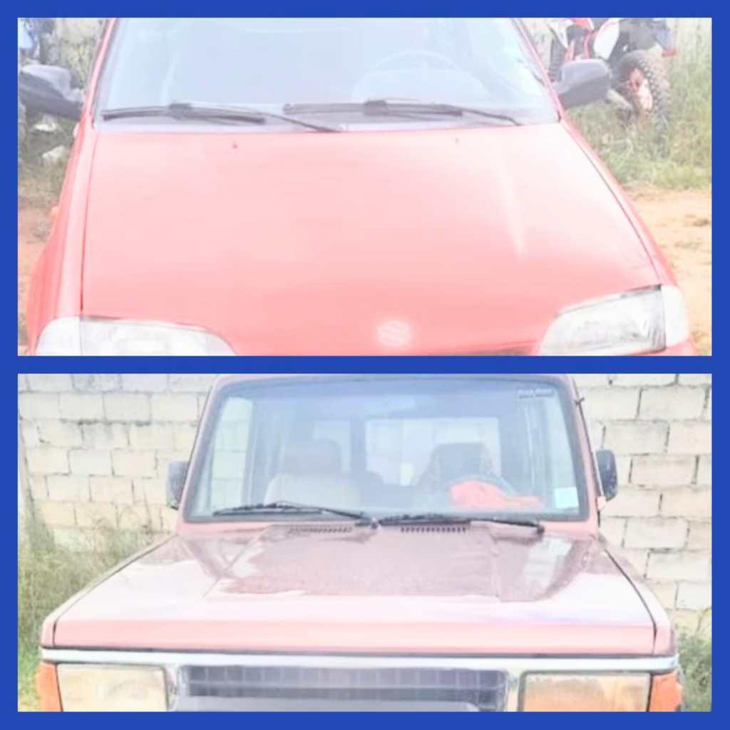 Los dos carros ingresaron a los patios de retención vehicular de la Policía Judicial.