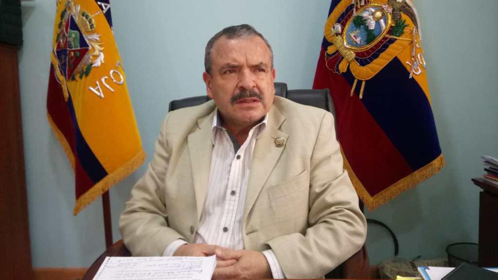 Oscar Lenín Muñoz Apolo, secretario General del Sindicato de Choferes de Loja.