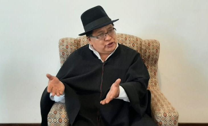 Manuel Medina Quizhpe, asambleísta de Loja.