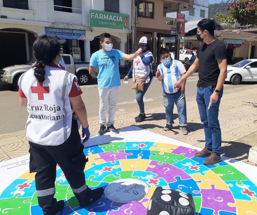 Días atrás estuvieron en Puyango y Pindal captando más voluntarios.