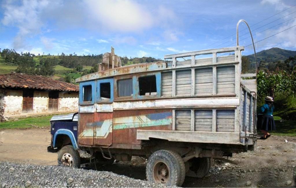 El automotor fue llevado desde Catamayo a la parroquia lojana.