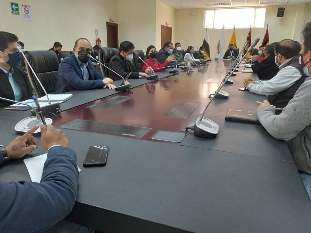 La reunión se cumplió en las instalaciones del ECU-911.