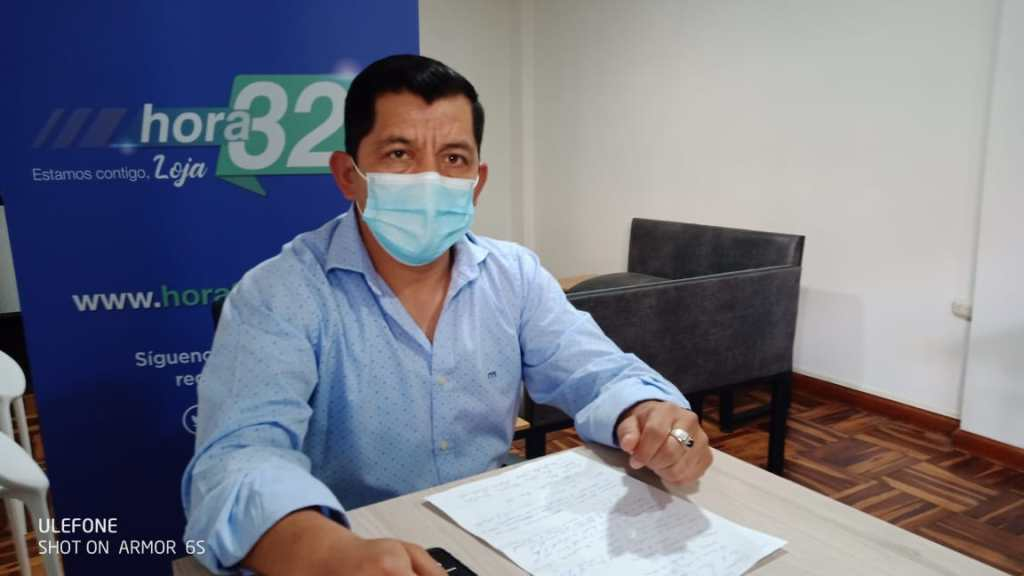 Charles Herrera Soto está a cargo de la Uncis de Loja.