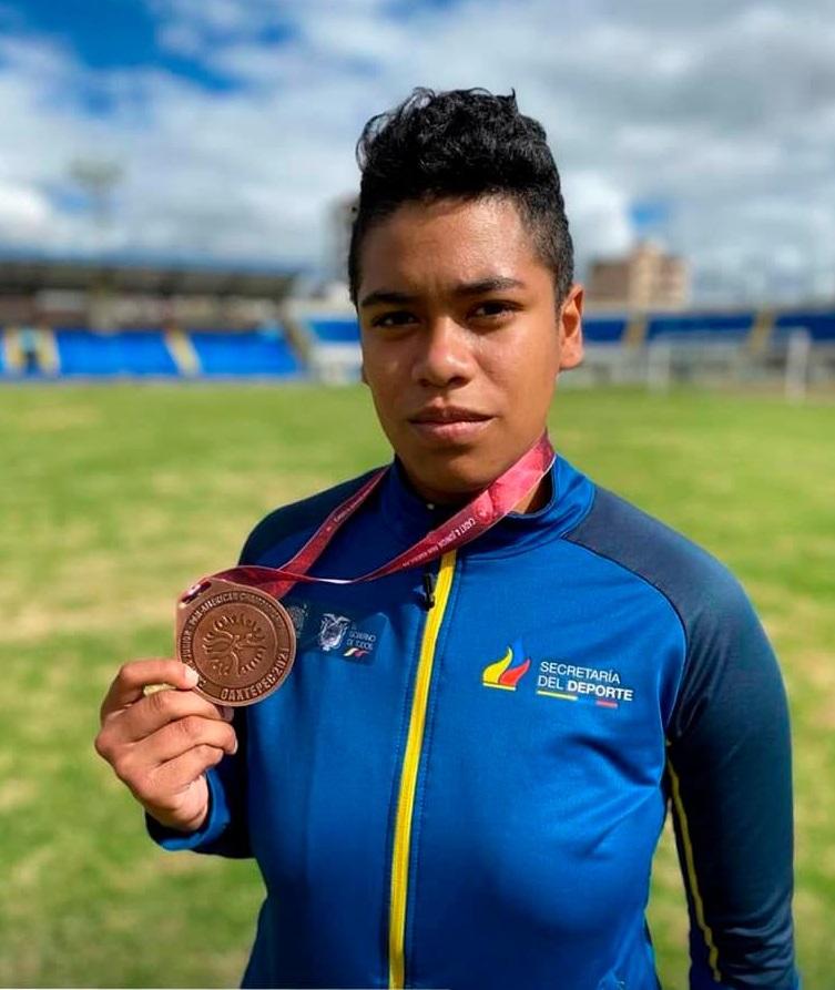 Jamilex Cumbicos Castillo obtuvo una presea de bronce en los Campeonato Panamericano de México.