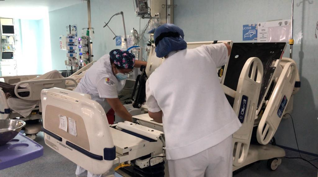 Pacientes con otras patologías están siendo atendidos en UCI.