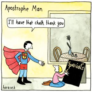 Apostrophe joke