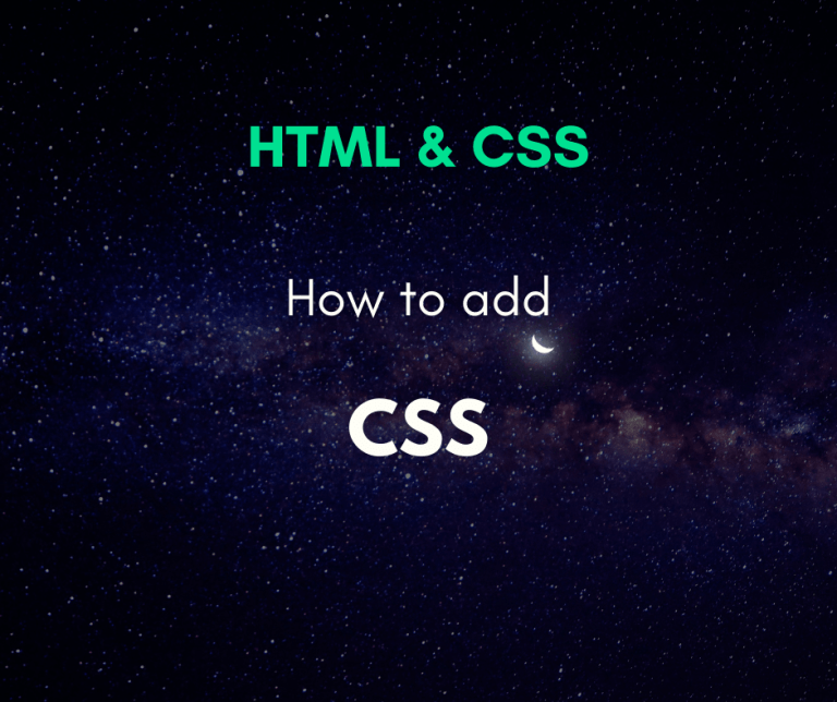 correct way to add CSS to a webpage cover