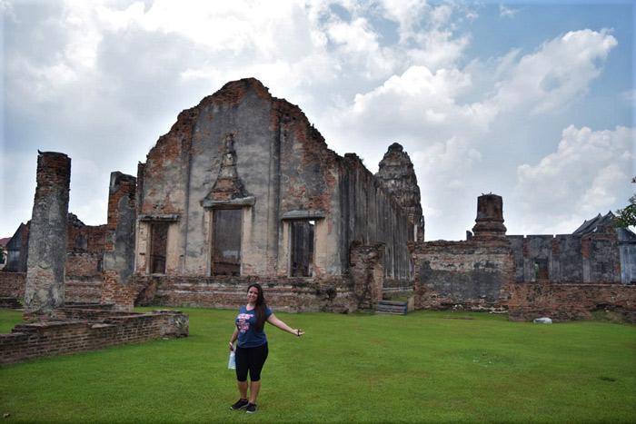 Imagen templo tailandia lopburi
