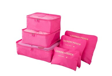 packing cubes debes llevar para organizar la mochila para Tailandia